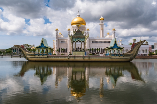 Widok z tyłu meczetu