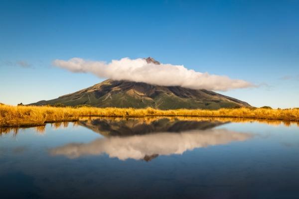 Wulkan Egmont, nazywany górą Taranaki